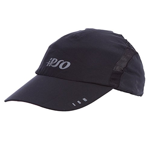 IPSO Black Running Cap (Size: TU)