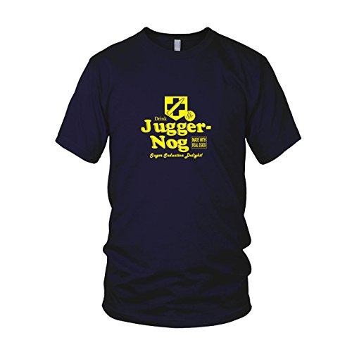 Preisvergleich Produktbild Juggernog - Herren T-Shirt, Größe: S, dunkelblau