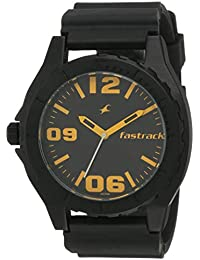 Fastrack OTS Sports Analog Black Dial Men's Watch - NE9462AP04J