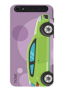 Noise Happy Car Purple Printed Cover for InFocus M808