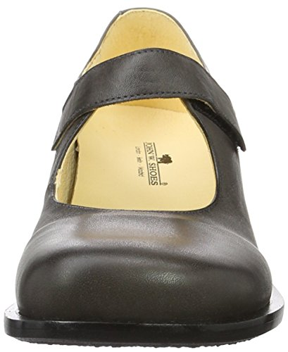 John W. Shoes Sofia, Mary Jane femme Grau (GRIS OSCURO)