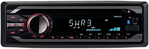 yer: MP3-Autoradio mit Bluetooth, CD-Player, USB, SD, RDS, 4X 50 Watt (Autoradio mit Freisprechanlage) ()