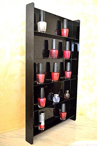 Nagellack Sammler Vitrine / Hängevitrine / Glasvitrine / Wand Regal Miniflaschen oder Sammelfiguren...