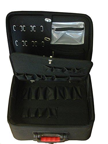 Plano PLO112E1NR Carro porta herramientas profesional en E.V.A. (Etileno, Vinilo, Acetato), con estructura de refuerzo en ABS, Negro, 0