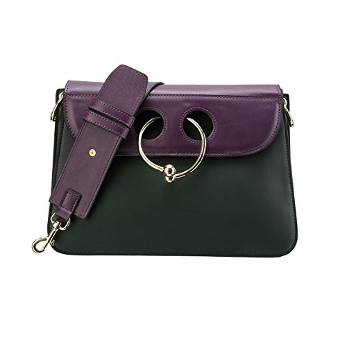Mefly Tutti-Match Street Fashion Borsetta In Pelle Viola Borsa purple