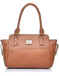 Fostelo Women's Alysse Shoulder Bag Tan (FSB-920)