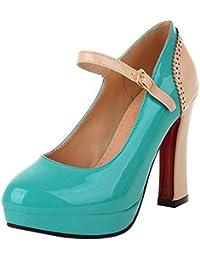 Amazon.es  34 - Zapatos de tacón   Zapatos para mujer  Zapatos y ... 227375850b38