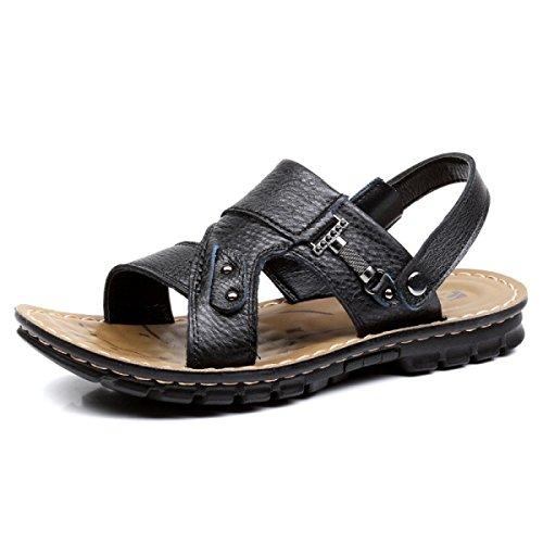Homens Ao Livre Sapatos Sandálias Dos Chinelos Preto Ar Vadear 6Fwgq1E