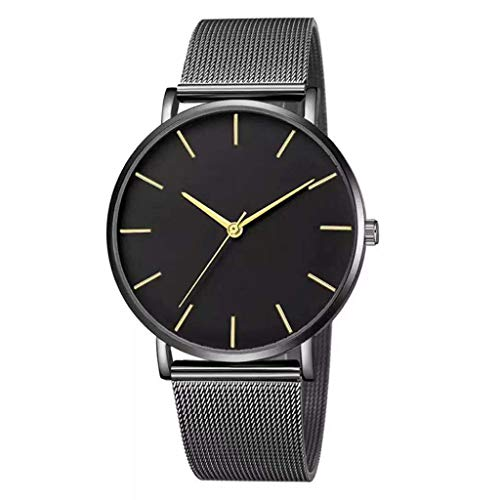 Armbanduhren männer Herrenuhr Herren Luxusuhren Quarzuhr Edelstahl Zifferblatt Casual Bracele UhrArmbanduhr Uhren armbanduh B