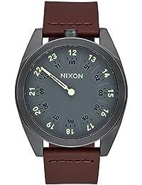 Nixon Unisex-Armbanduhr Analog Quarz Leder A9261388