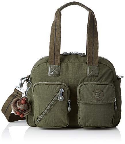 Kipling - Defea Up, Bolsos maletín Mujer, Verde (Jaded Green C)