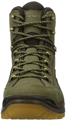 Lowa Renegade GTX M, Chaussures de Randonnée Hautes Homme Marron (Forest/dunkelbraun 7193)