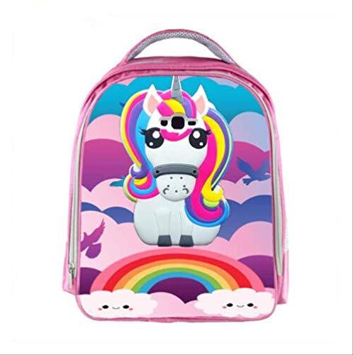 HPADR Kinderrucksack Kinder Unicorn Rucksack Boys Cartoon Kindergarten Rucksäcke Rainbow Pony Kids School Bags pro Foto: - Kleinkind Vans-lo Pro