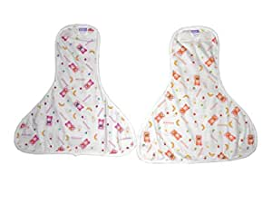 Hello Baby Printed Nappies (L)Set of 6pc.