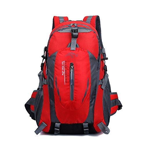 Imagen de  de marcha, senderismo  y bolsas camping viaje trekking  para escalada montaña red, 40l