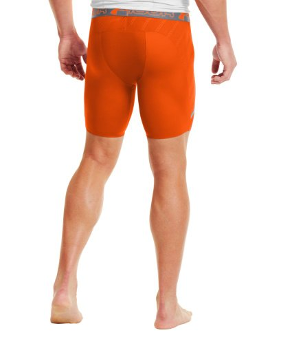 Under Armour Herren Fitness Hose und Shorts Vent Comp Orange