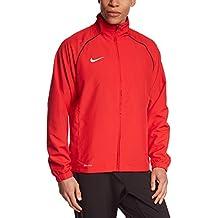 Nike Found 12 Sideline WP Wz Chaqueta de Fútbol, Hombre, Rojo Universitario/Negro