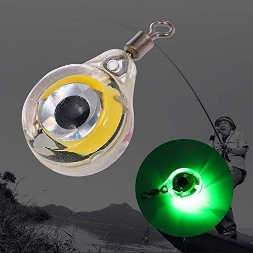 TianranRT GlüHen LED Unterwasser Licht KöDer Fo Fischenlichternacht-LeuchtstoffglüHen FüHrte LichtköDer Angeln Beleuchtung Nacht Fluoreszierend (Grün) -