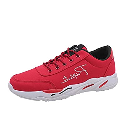 Men's Running Shoes Sonnena Men's Casual Sport Shoes Travel Shoes Breathable Lace-up Sneakers Lightweight Sports Trainers Gym Walking Trainers Fitness For Men / Boy