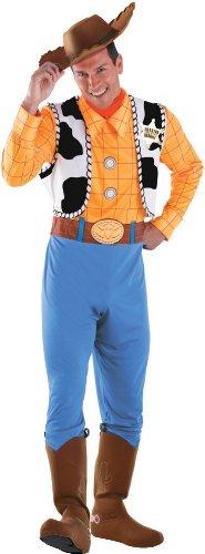 Disguise Costumes Herren Kostüm Woody Deluxe Erwachsene (Erwachsene Woody-kostüme Für)