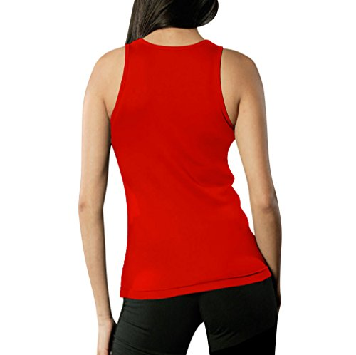 Women Can Wear What They Want! Auch Burkinis Frauen Tank Top Rot