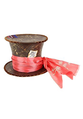 Elope Alice in Wonderland Mad Hatter Tea Party Hat Standard