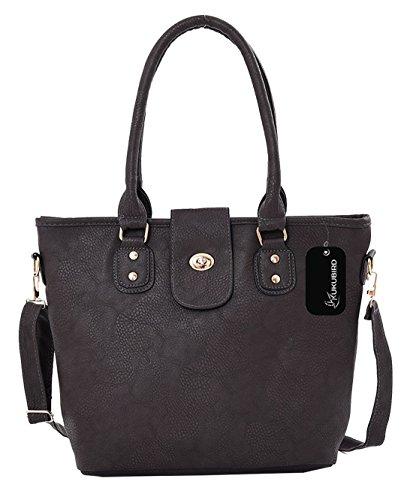 Kukubird Shae Einkaufstasche täglichen Casual Bag Dark Grey