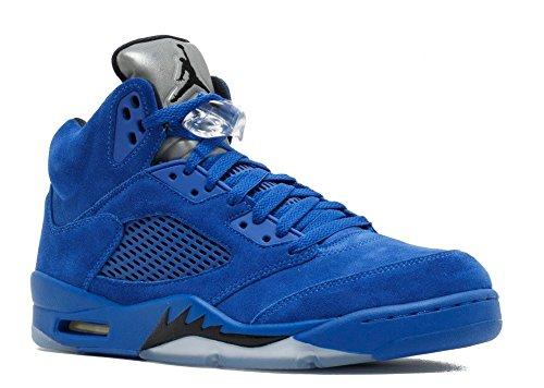 Air Jordan 5 Retro 'Blue Suede' - 136027-401 - Size 12 -