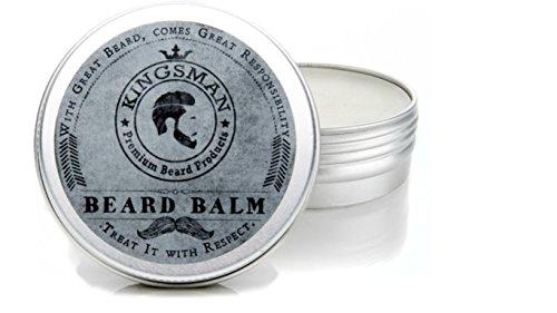 Kingsman Beard Balm, leave in beard conditioner,