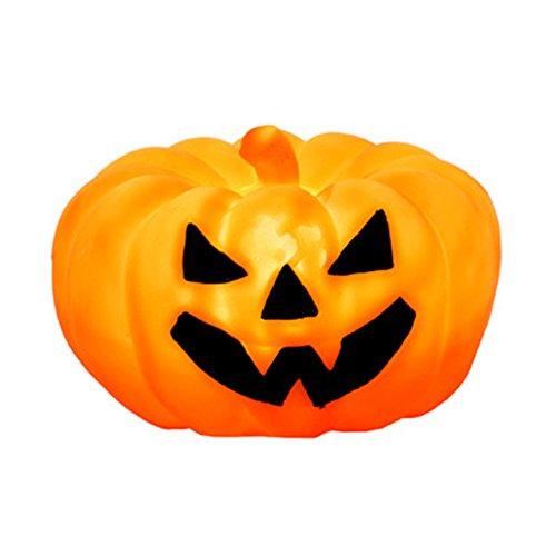artstore LED Halloween Kürbis, Halloween-Kürbislaterne Lichtern batteriebetrieben mit Fernbedienung für tolle Haunted House Halloween Dekoration Battery Operated bunt