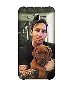 small candy 3D Printed Back Cover For Samsung Galaxy On5 -Multicolor messi