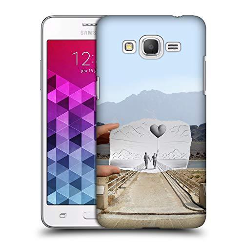 Head Case Designs Offizielle Ben Heine Liebe 2 Bleistift Gegen Kamera Ruckseite Hülle für Samsung Galaxy Grand Prime