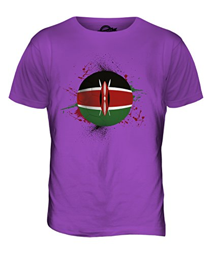 CandyMix Kenia Fußball Herren T Shirt Violett