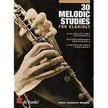 30 melodische Etüden für Klarinette