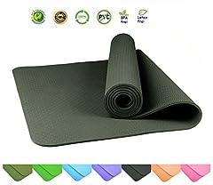 Fitnessmatte Yogamatte Gymnastikmatte Pilatesmatte Sportmatte Übungsmatte
