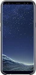 Samsung EF-PG955TSEGWW Silicone Cover (geeignet für Samsung Galaxy S8+) Dunkel Grau