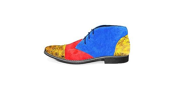 PeppeShoes Modello Oletto Handgemachtes Italienisch Bunte