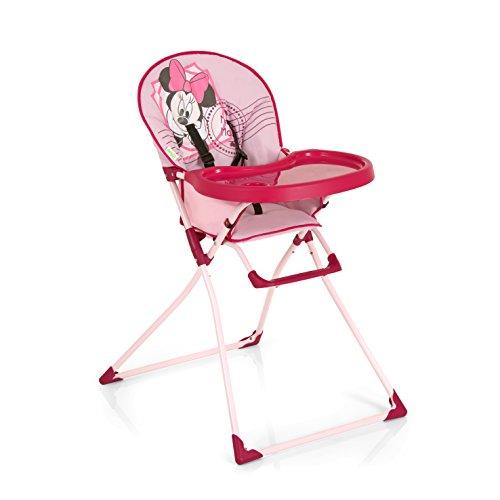 Hauck Mac Baby - Trona con bandeja grande y cesta, V-Minnie Pink II