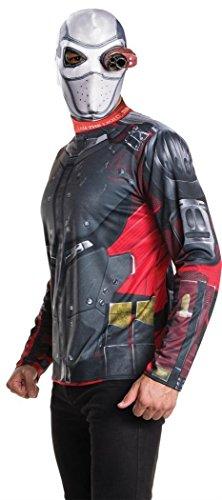 Rubie's-Costume con autobomba 810998STD Squad Deadshot Kit per travestimento, Adulto, taglia: M