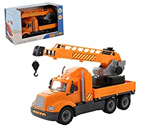 Polesie 61966 Mike, Crane - Caja para Camiones de Juguete