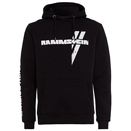 Rammstein Rammstein, Kapuzenpullover Weißes Kreuz (M)