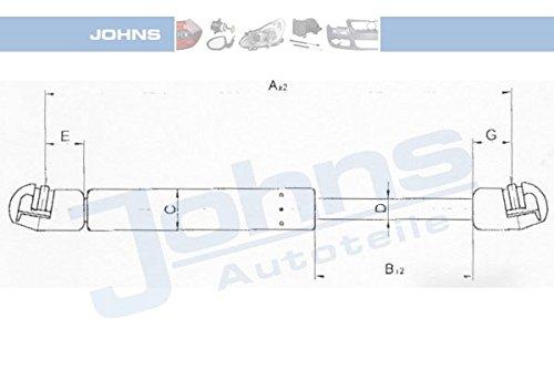 JOHNS gaz pour appareils portatifs 95-95 55/08 (par opposition aux cales)
