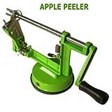 Arsuk Schäler und Entkerner für Äpfel/ Kartoffeln/ Obst, 3-in-1 Küchenschneidewerkzeug,Edelstahl