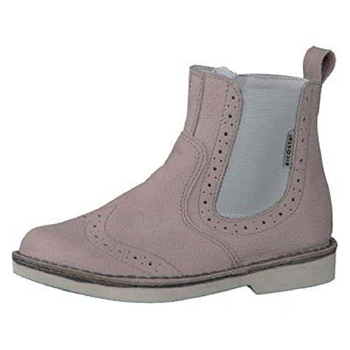 RICOSTA Mädchen DENISA Chelsea Boots, Pink (Viola), 33 EU
