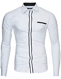 Kayhan Herren Hemd London, Weiß (XL)