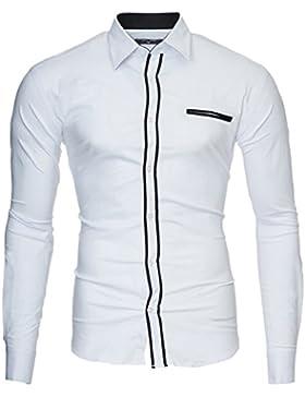 Kayhan Herren Hemd London, Weiß (M)