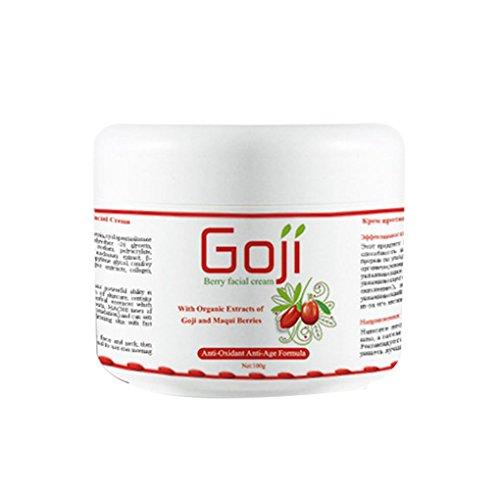 Providethebest Hyaluronsäure Goji Essence Serum Anti-Falten Anti-Oxidationsmittel Anti-Aging-Feuchtigkeitsspend Whitening Day Nachtcreme