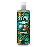 Faith in Nature Natural Coconut Shampoo, Hydrating, Vegan & Cruelty Free, Parabens and SLS Free, Normal to Dry Hair, 400…