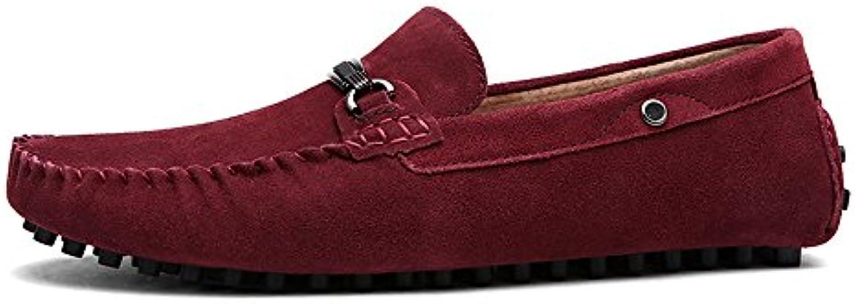 Yajie-scarpe, 2018 Mocassini da Uomo Mocassino con bottoni in in in metallo da uomo. Mocassini eleganti con tomaia in... | Funzionalità eccellenti  efc0b8