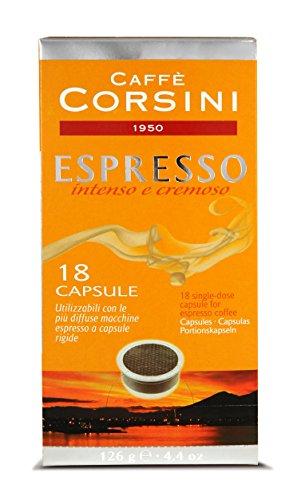 Caffè Corsini Capsule Fap Espresso - 12 confezioni da 18 capsule - Totale 216 Capsule